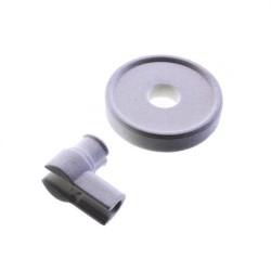 Korghjul til diskmaskin (Brand Genuine Code: WHIRLPOOL 481952878105, 481952888066, WHIRLPOOL BAUKNECHT )