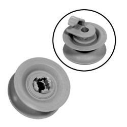 Basket Wheel kit for dishwasher (BOSCH SIEMENS 165313)