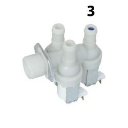 Magneettiventtiili 3-tie korvaa ELECTROLUX AEG (8996450387452)