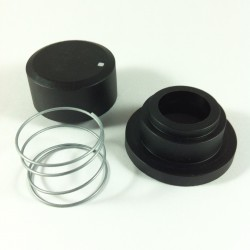 Franke Knob Kit, black 133.0053.893